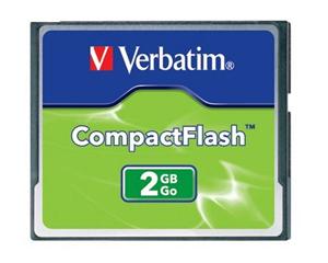 Verbatim 2 GB CompactFlash Card 47012