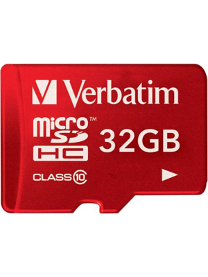 Verbatim 32GB 44044 Flash memory card