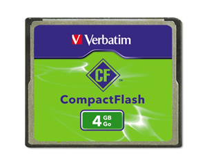 Verbatim 4 GB CompactFlash Card 95188