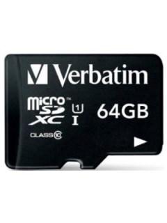 Verbatim 64GB MicroSDXC Class 10 44014