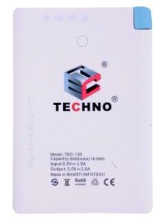 Techno TEC-130 5000 mAh Power Bank