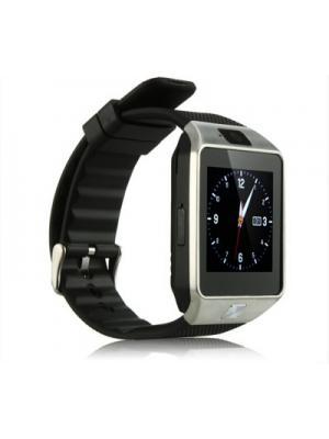 Influx ® DZ09 SIM-TF Card Support Camera Silver Smartwatch