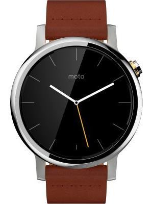 Motorola Moto 360 for Men Cognac
